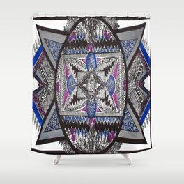 Mandala no.9 Shower Curtain
