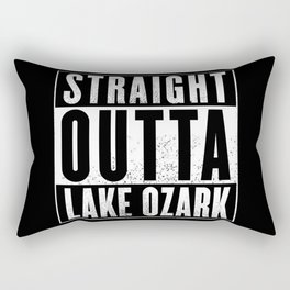 Straight Outta Lake Ozark Rectangular Pillow