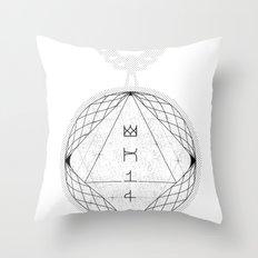 Spirobling XXV Throw Pillow