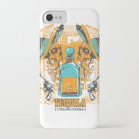 tequila iPhone & iPod Cases featuring Tequila Duel by Tshirt-Factory