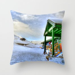 In the Mountain Throw Pillow