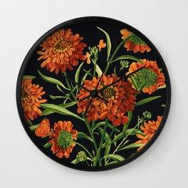 Vintage Garden 28A Wall Clock