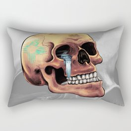 Zia Skull Rectangular Pillow