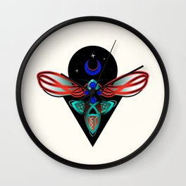 Celtic Cross Insect Wall Clock