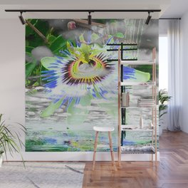 High Voltage on passionflower Wall Mural