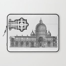 St. Peter Basilica - Rome, Italy Laptop Sleeve