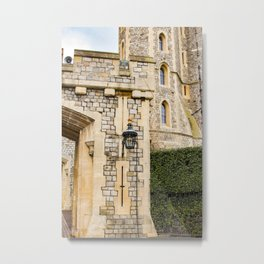 Gate of Windsor Castle Metal Print