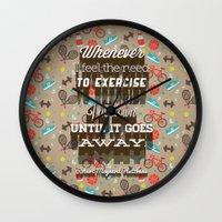 Exercising... Wall Clock