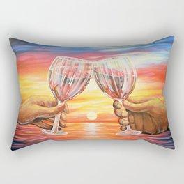 Our Sunset Rectangular Pillow