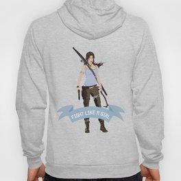 Fight Like a Girl: Lara Croft Hoody