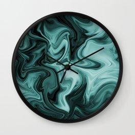 ABSTRACT LIQUIDS 60 Wall Clock