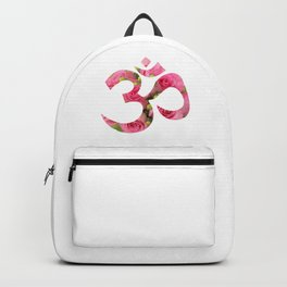 Aum Rose Harmony Om Backpack