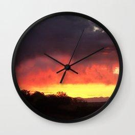 Santa Fe Sky Wall Clock