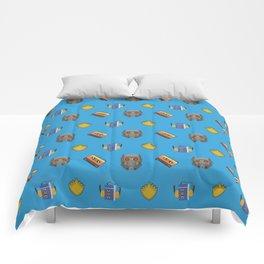 Awesome Mix Vol 1- Yondu Blue Comforters