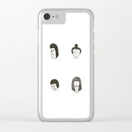 The small faces Clear iPhone Case