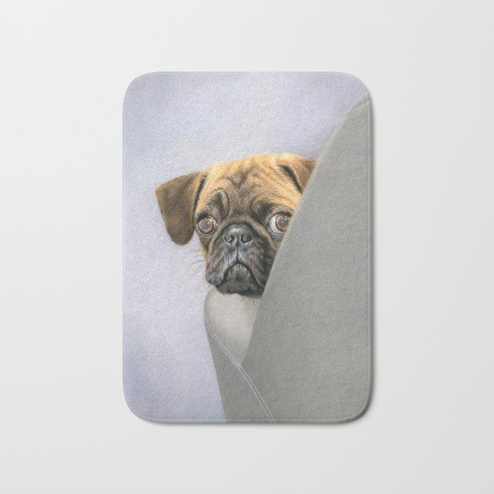 """Oh, You're Home..."" Bath Mat"