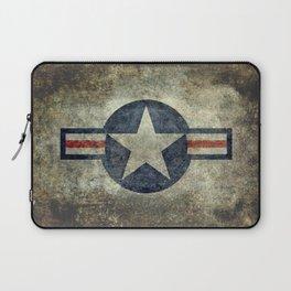 Vintage USAF Roundel #2 Laptop Sleeve