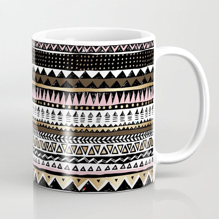 Boho Geometric Stripe Coffee Mug