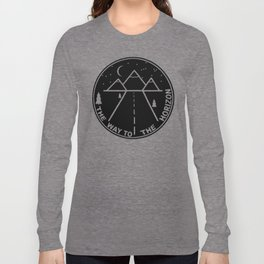 The way to the horizont Long Sleeve T-shirt