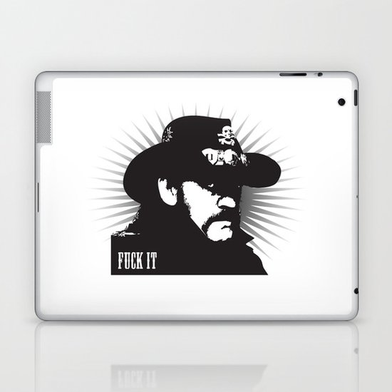Fuck it Laptop & iPad Skin