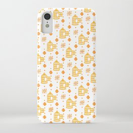 Gold Hand Pattern iPhone Case
