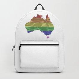 Australia Gay Pride Flag Backpack