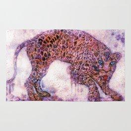 leopard splash ! Rug