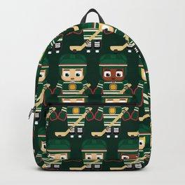 Super cute sports stars - Ice Hockey Green Backpack