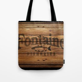 Fontaine Fisheries Crate Tote Bag