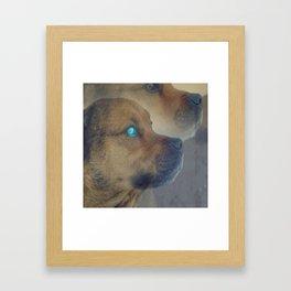 I can see you Framed Art Print