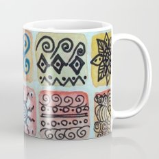 Watercolor Tile 5483 Coffee Mug