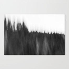 Zeitgefluester NO2 Canvas Print