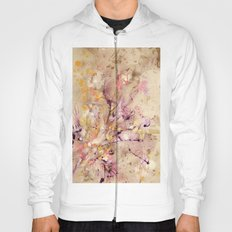 Abstract Marble Acrylic Cherry Blossom Flower Hoody