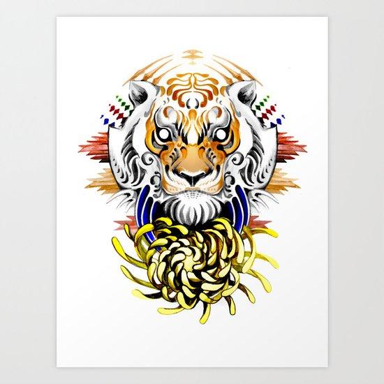 Keep Fierce II Art Print
