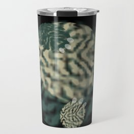Thumbprint Snorlax Travel Mug