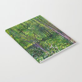 Vincent Van Gogh Trees & Underwood Notebook