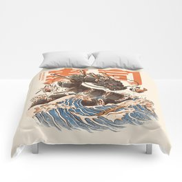 Great Sushi Dragon Comforters