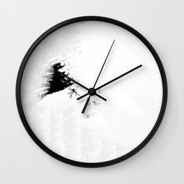 Paper Webbing Wall Clock