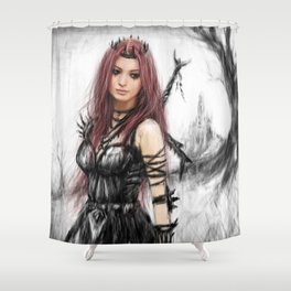 Distance Fading Shower Curtain