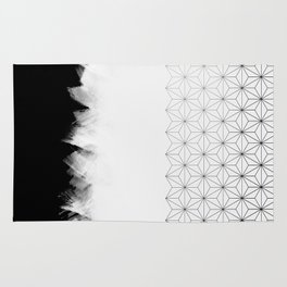 Christmas Geometric Pattern Rug
