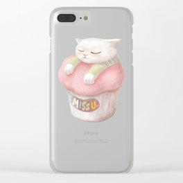 Miss You Clear iPhone Case