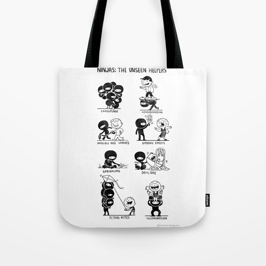 The Unseen Helpers Tote Bag