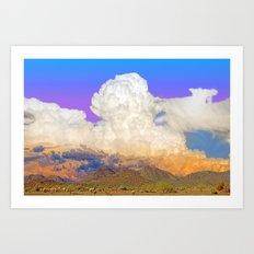 Sonoran Sunset Sundae (with a scoop of vanilla( Art Print