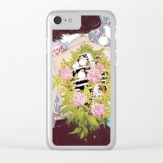 Strawberry Milk Clear iPhone Case