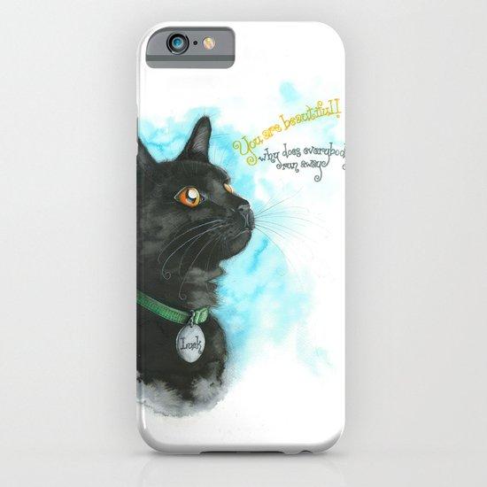 Black Cat-2 iPhone & iPod Case