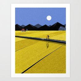 Way home Art Print