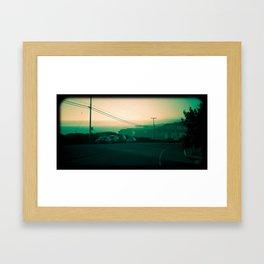 Highway one, California Framed Art Print