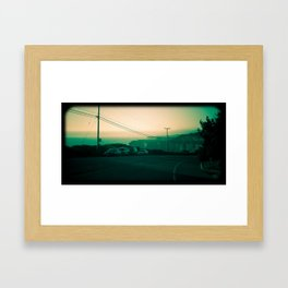 Highway one, California Framed Art Print