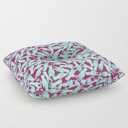 Visual English III Floor Pillow