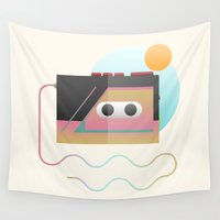 edm Wall Tapestries featuring Summer Rhythm by Moremo